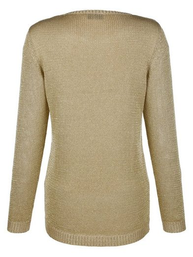 Laura Kent Sweater With Gold Gloss