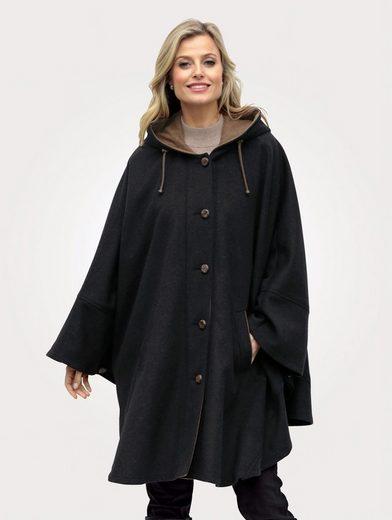Mona Cape mit hochwertiger Schurwolle