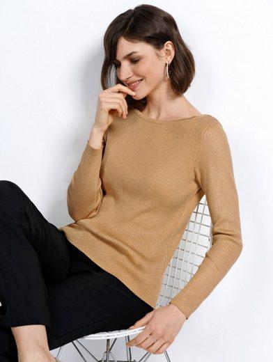 Mona Pullover mit Seiden-Anteil