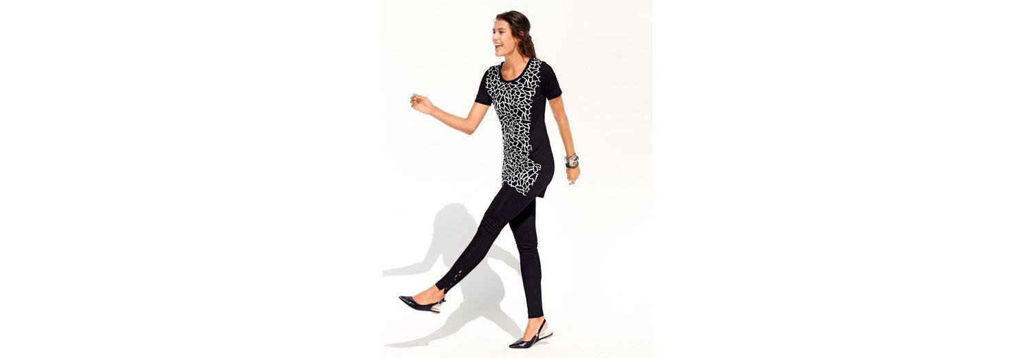 Laura Kent Leggings mit dekorativen Knöpfen Billig Verkauf Nicekicks 5ADIWZZ43
