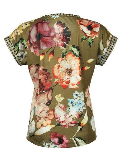 Amy Vermont Shirt In Floralem Dessin