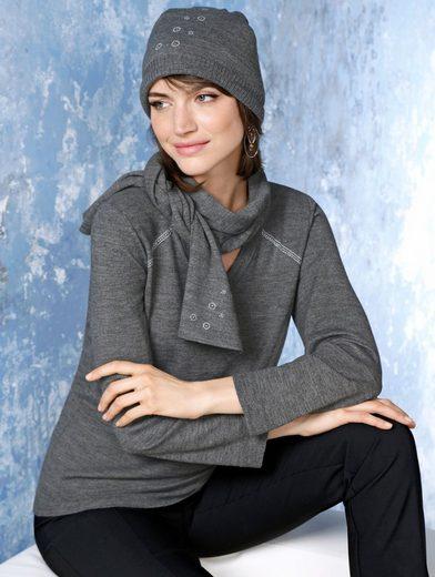 Mona Pullover mit Mütze und Schal