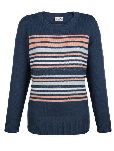 Dress In Pullover mit klassischem Streifenmuster