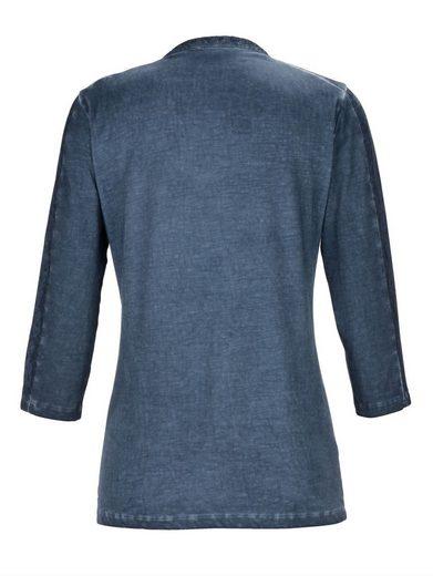 Mona Shirt mit modischer Waschung