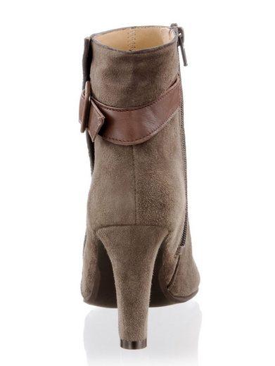 Alba Moda Stiefelette mit Zierschnalle