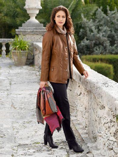 Mona Lederjacke aus feinstem Lammnappa
