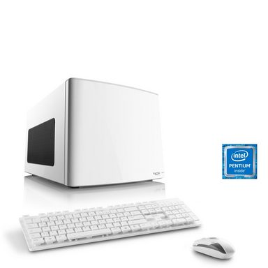 CSL Mini-ITX PC   Pentium G4560   Intel HD 610   8 GB DDR4   SSD »Multimedia Box T1891 Windows 10«