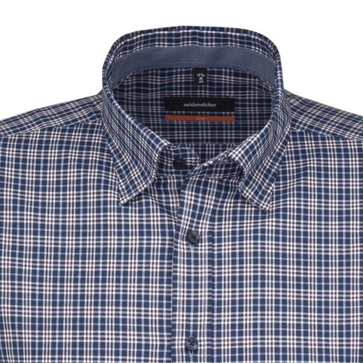 seidensticker Businesshemd Slim, Button-Down-Kragen