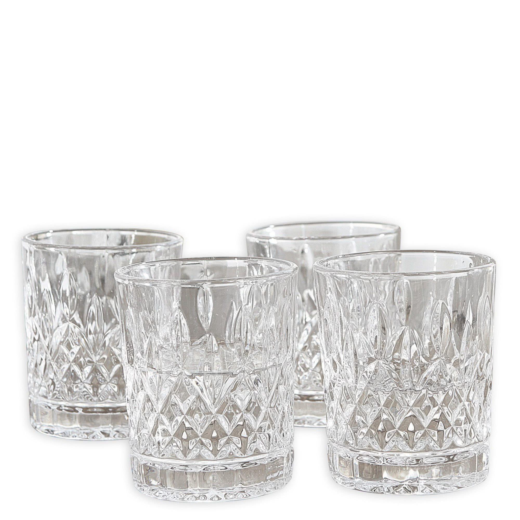 Loberon Glas 4er-Set »Crista«