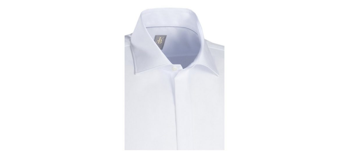 Jacques Britt Businesshemd Slim Fit, Kent-Kragen