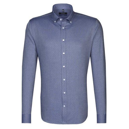 seidensticker Businesshemd Tailored, Button-Down-Kragen