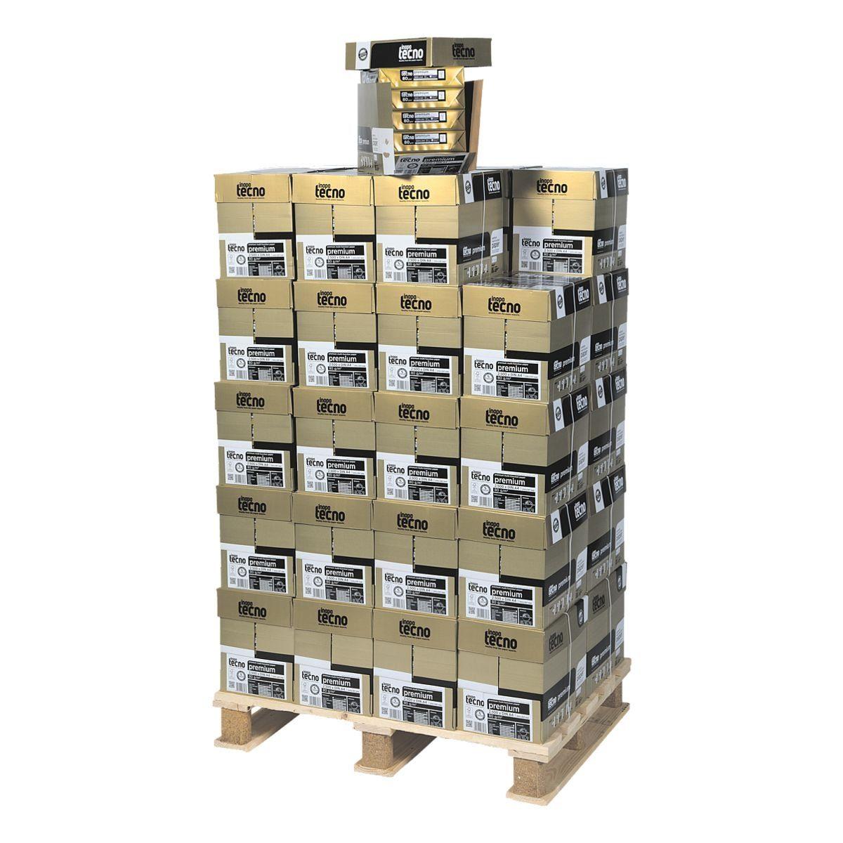 Inapa tecno 1/2 Palette Multifunktionales Druckerpapier »Premium«