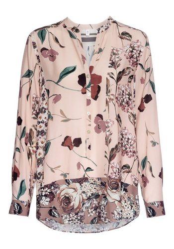 Damen seidensticker Bluse mit Blumenprint rosa   04041215353808