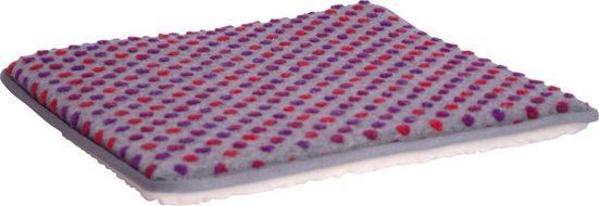 Linke Licardo Sitzkissen »Punkte«, Sofaauflage aus reiner Schurwolle