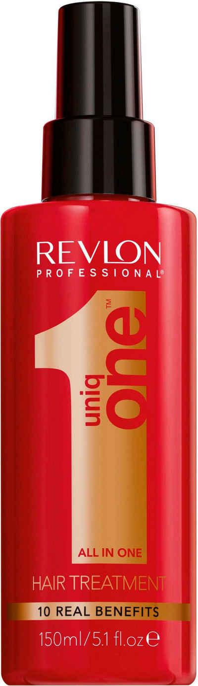 REVLON PROFESSIONAL Leave-in Pflege »Uniq One All in one Hair Treatment«, repariert volumengebend