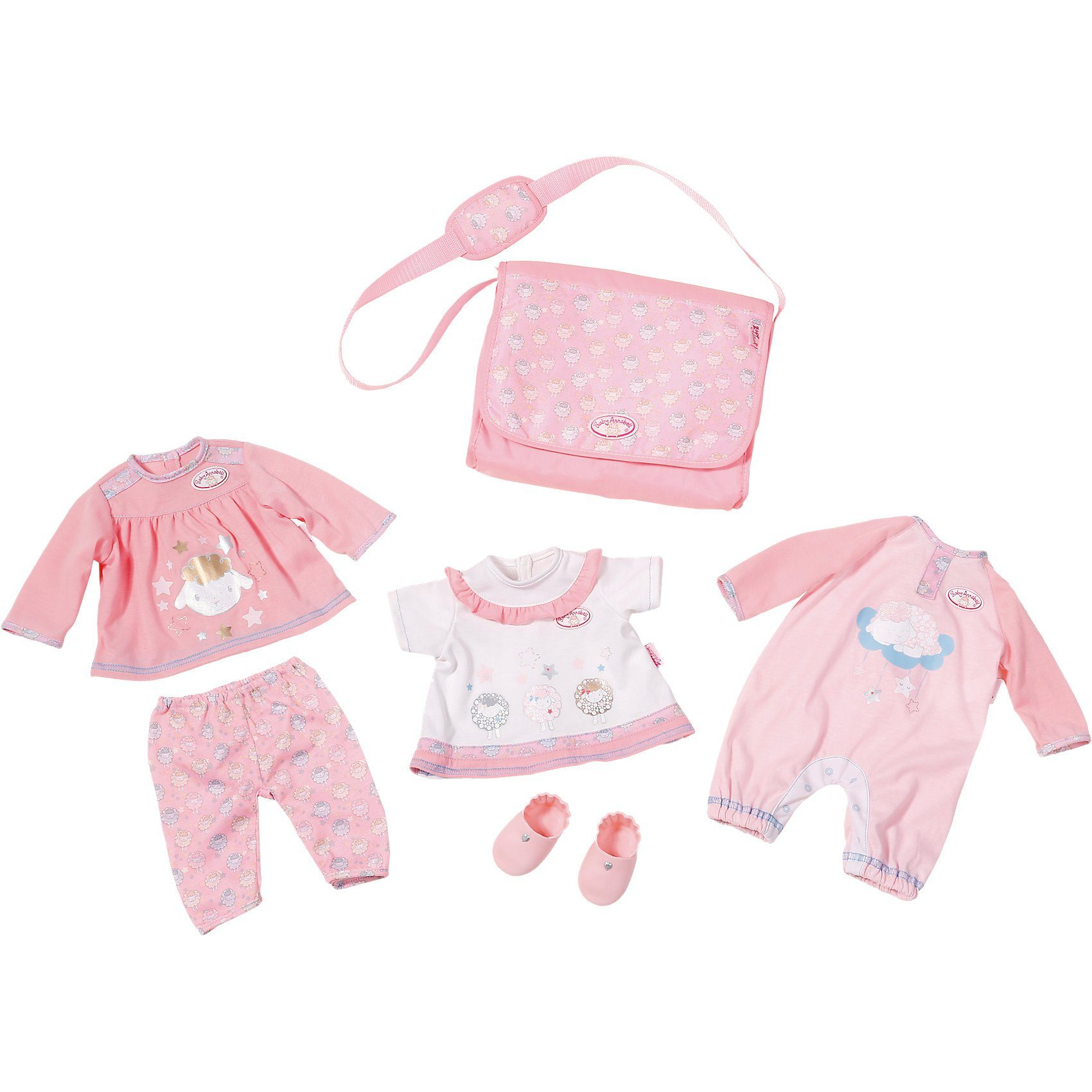 Zapf Creation® Baby Annabell® Puppenkleidung Great Value Pack classic