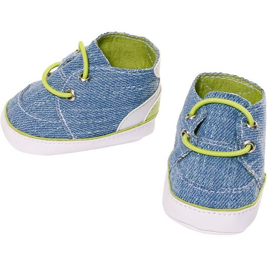 Zapf Creation® BABY born® Sneakers Blau Puppenkleidung, 43 cm, Puppenschuhe