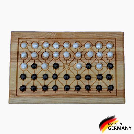 Madera Spielzeuge Spiel, Taktikspiel »Fanorona klassischesTaktikspiel«, Made in Germany