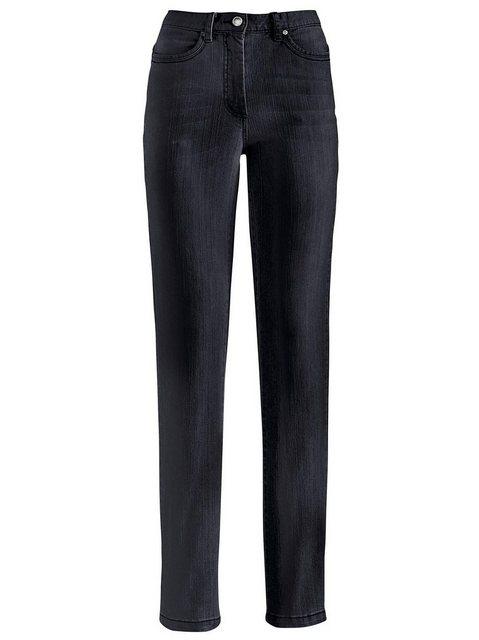 Hosen - Casual Looks 5 Pocket Jeans › schwarz  - Onlineshop OTTO