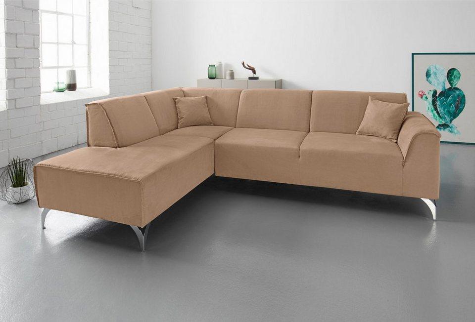 inosign ecksofa ottomane wahlweise links oder rechts online kaufen otto. Black Bedroom Furniture Sets. Home Design Ideas