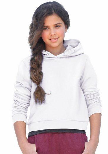 KIDSWORLD Kapuzensweatshirt in kurzer Form