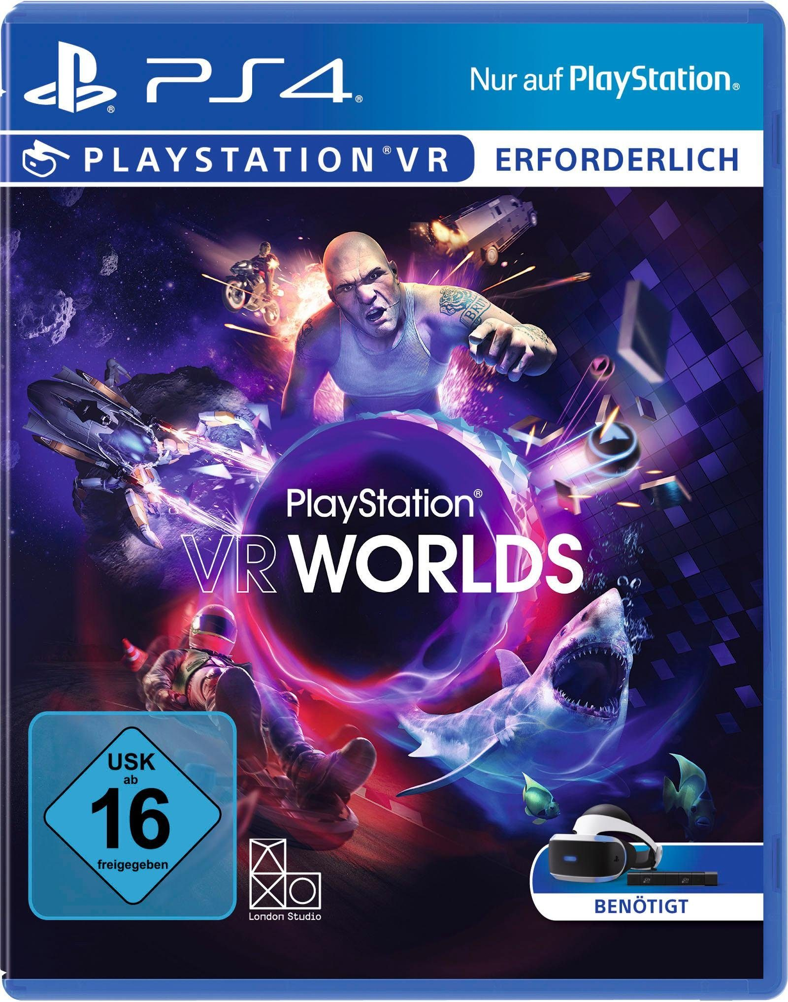 VR Worlds PlayStation 4