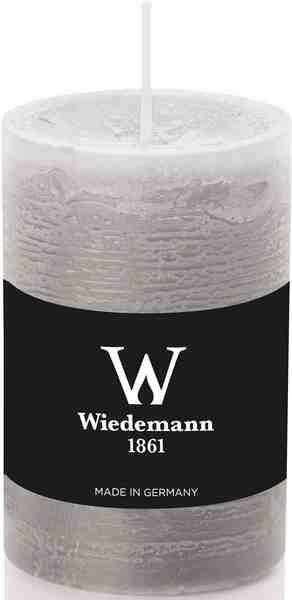 Wiedemann Marble durchgefärbte Kerze mit Banderole im 8er-Set, Ø 5,8 cm in 2 Größen