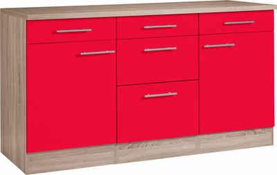 Küchenschrank in rot online kaufen | OTTO