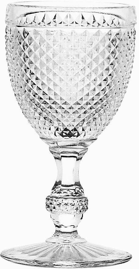 CreaTable Weissweinkelch, 6 Teile, »DIAMOND«