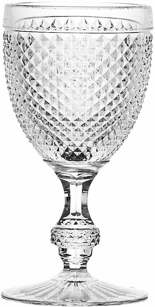 CreaTable Rotweinkelch, 6 Teile, »DIAMOND«