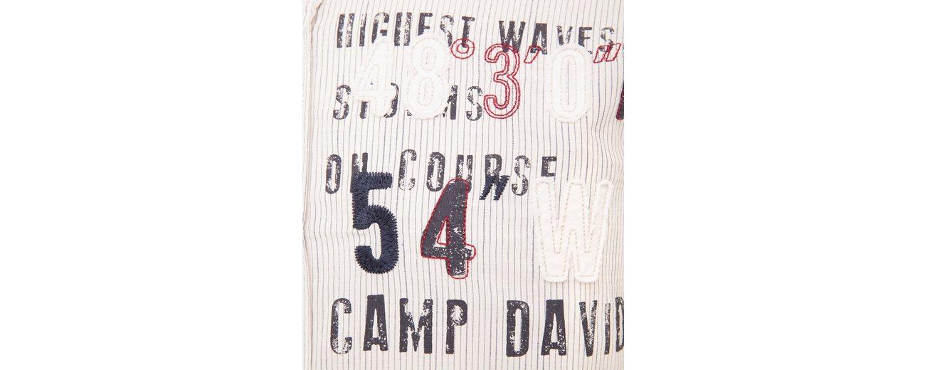 CAMP DAVID Langarmhemd Rabatt Komfortabel 4DXeZ9cc