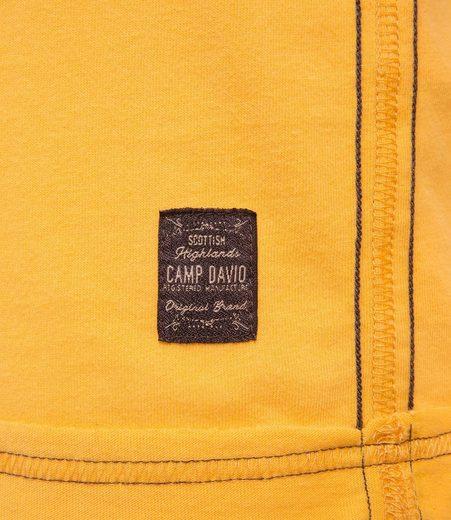CAMP DAVID Langarmshirt