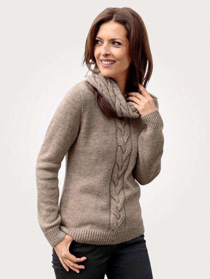 4f930751c6c1d1 Mona Pullover mit abnehmbaren Loop-Schal kaufen   OTTO