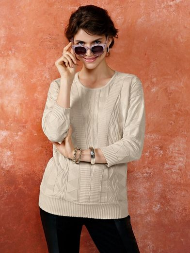 Mona Pullover With Structure-trick