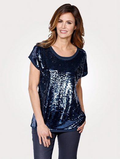 Mona Shirt mit Wende-Pailletten