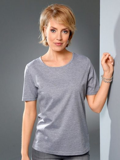 Paola Shirt In Melange Quality