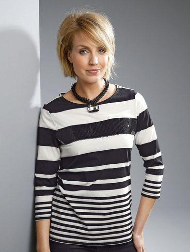 Paola Shirt mit Pailletten besetzt