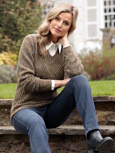 Mona Pullover aus reiner Schurwolle