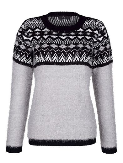 Paola Pullover mit Norwegermuster