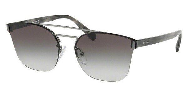 PRADA Prada Herren Sonnenbrille » PR 01US«, schwarz, 1AB5S0 - schwarz/grau