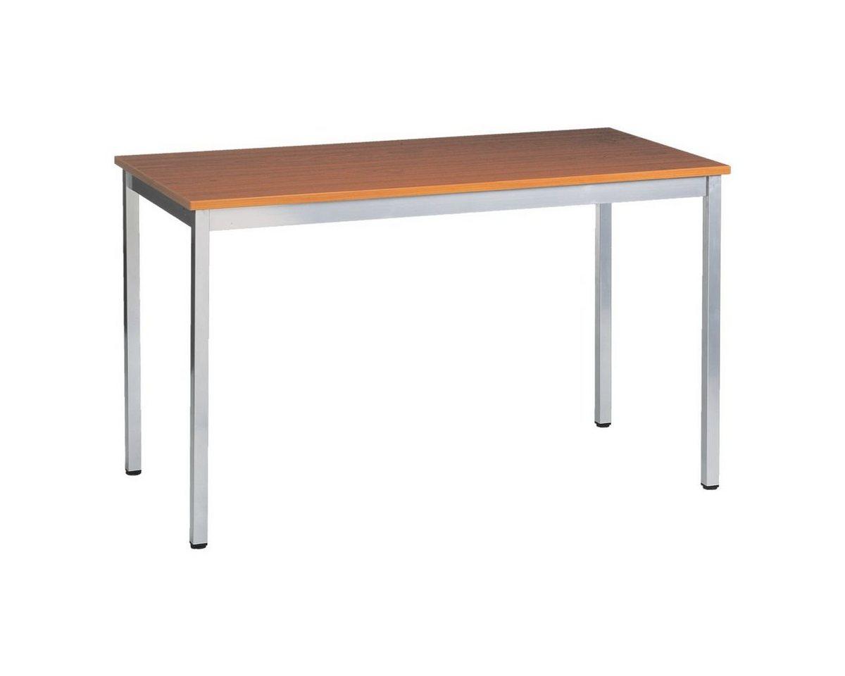 Schreibtisch 120x60 cm »Universaltischprogramm« | Büro > Bürotische > Schreibtische | Braun | OTTO