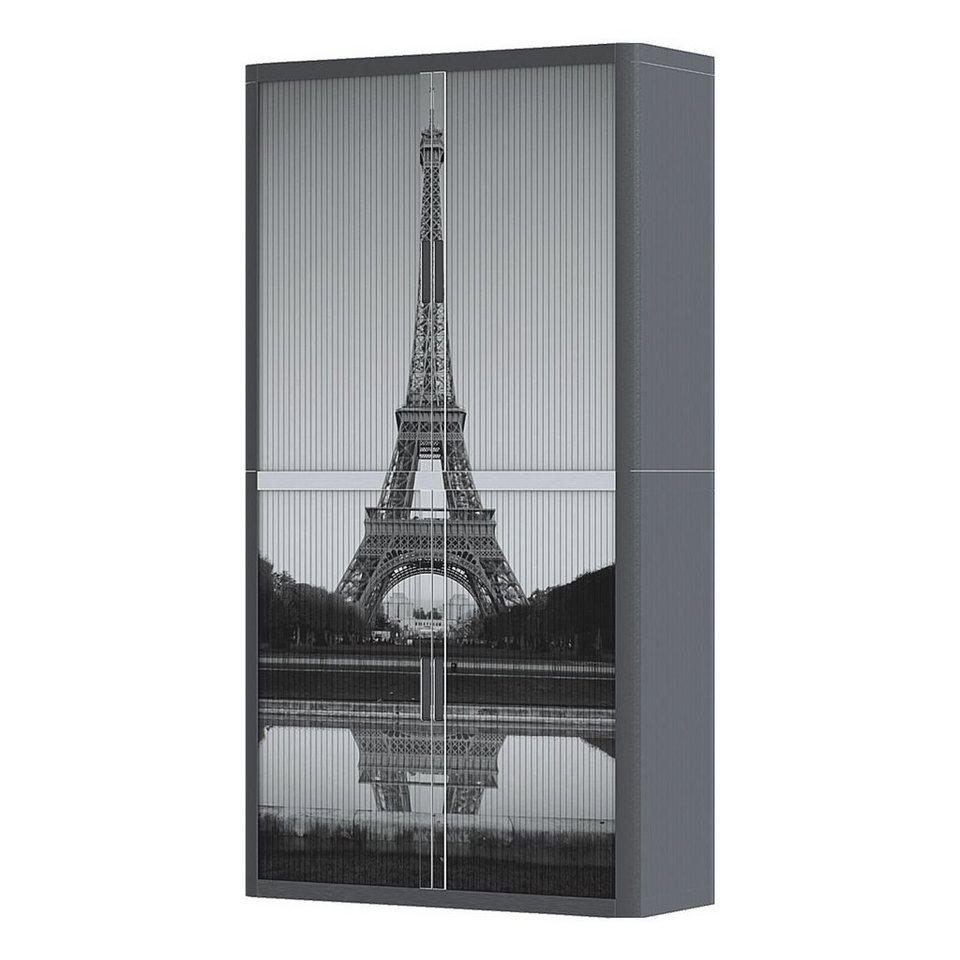 Easyoffice Rollladenschrank Motiv Eiffelturm Otto