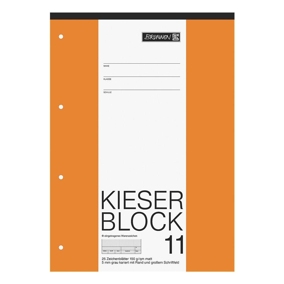 Brunnen Zeichenblock »KIESER 070011«