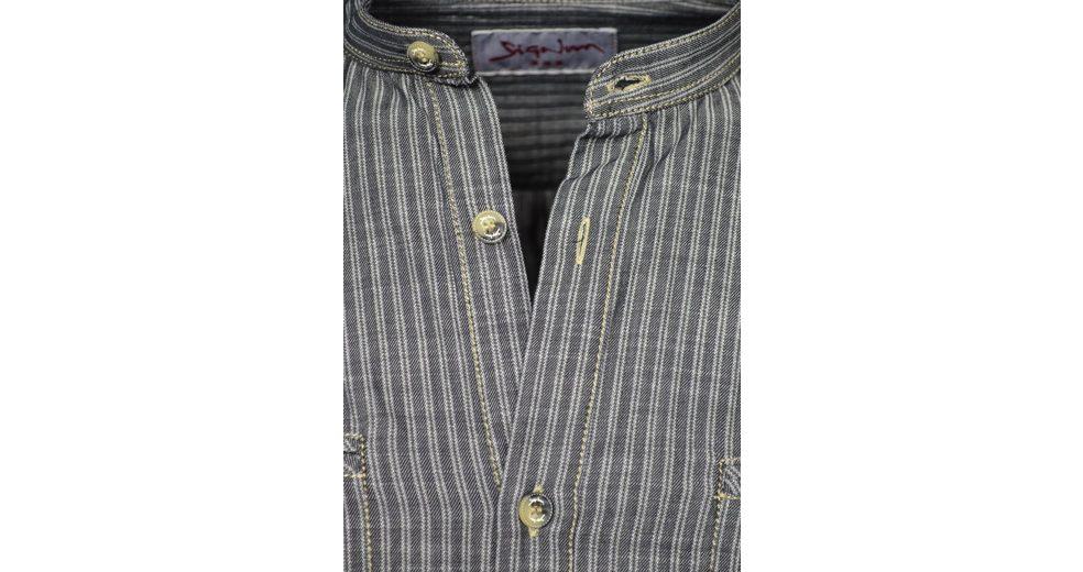 Signum Must Have! Longshirt aus gestreifer Baumwolle Spielraum Günstig Online Echt Billig Verkauf Online-Shopping Spielraum Sehr Billig XUgTyI