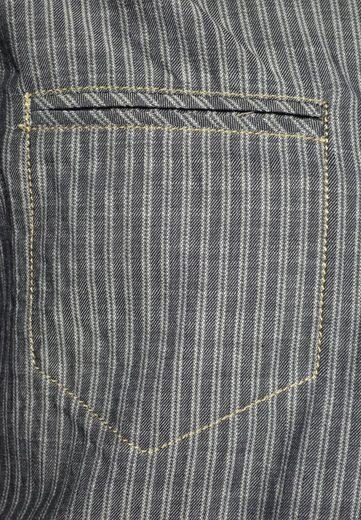 Signum Must Have! Longshirt aus gestreifer Baumwolle