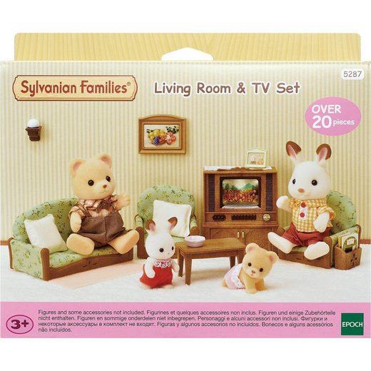 EPOCH Traumwiesen Sylvanian Families Wohnzimmer- und TV-Set