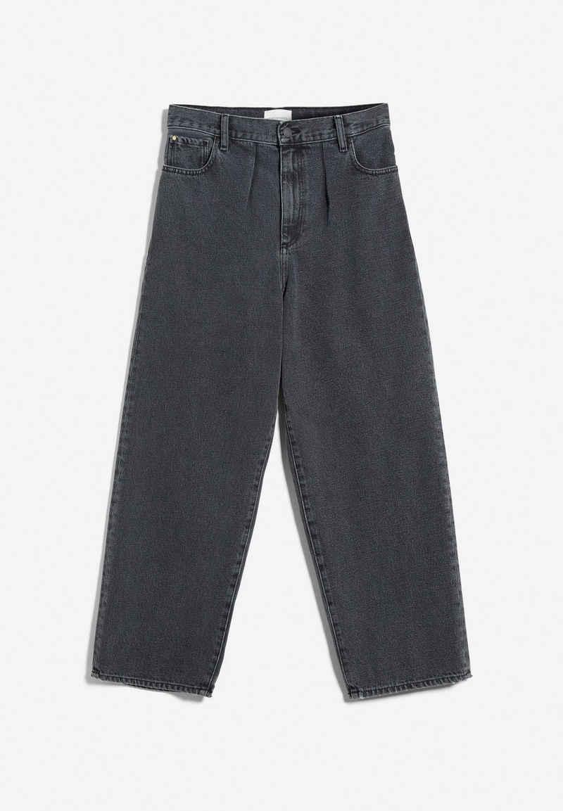 Armedangels Straight-Jeans »AANIKE DRY BLACK Damen« (1-tlg)