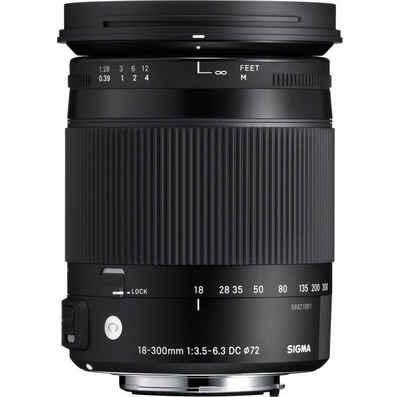 SIGMA »18-300mm 1:3,5-6,3 DC Macro OS HSM Nikon« Objektiv
