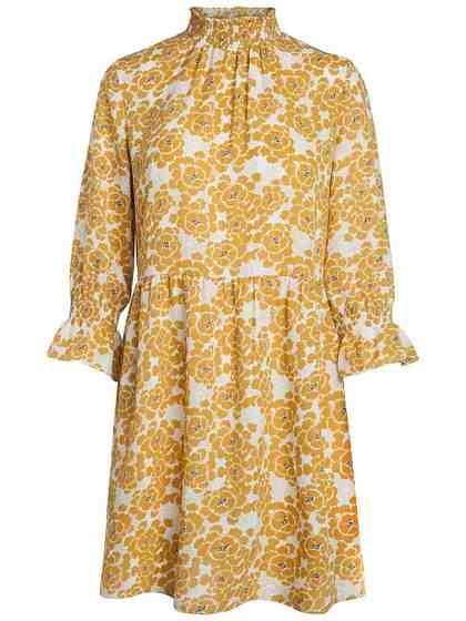 Pieces Mit Blumen bedrucktes Kleid