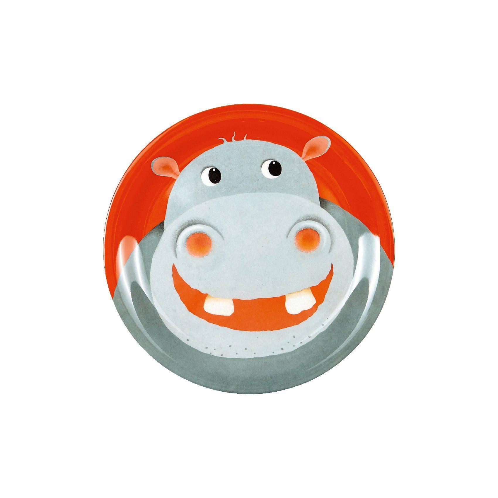 Spiegelburg Melamin-Teller Hippo Freche Rasselbande